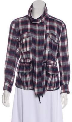 Etoile Isabel Marant Lightweight Plaid Jacket