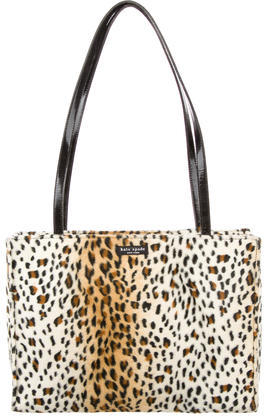 Kate Spade Kate Spade New York Textured Leopard Print Tote