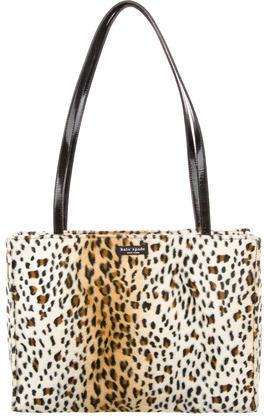 Kate SpadeKate Spade New York Textured Leopard Print Tote
