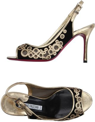 LUCIANO PADOVAN Sandals $319 thestylecure.com