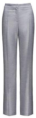 HUGO BOSS Relaxed-fit trousers with flared legs
