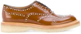 Church's chunky sole studded oxfords