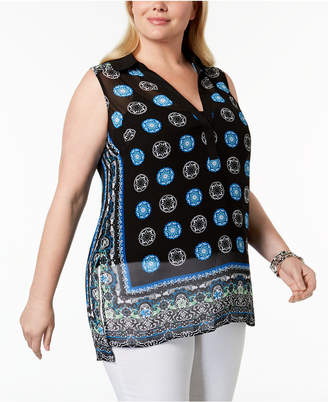 INC International Concepts I.n.c. Plus Size High-Low Tunic, Created for Macy's