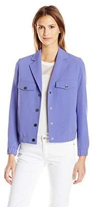 Anne Klein Women's Eisenhower Jacket Snaps