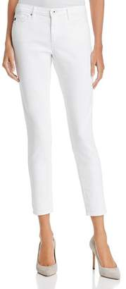 AG Jeans Ankle Denim Leggings in White - 100% Exclusive