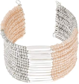 Linea By Louis Dell'olio by Louis Dell'Olio Seed Bead Multi Row Cuff