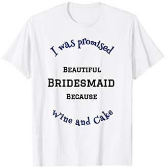 Bridesmaid Tshirt Wedding Shirt Bachelorette Party Gift