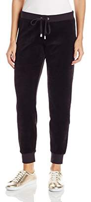 Juicy Couture Black Label Women's Bling Slim Velour Pant $41.90 thestylecure.com