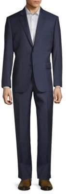 Two-Piece Slim Wool Suit
