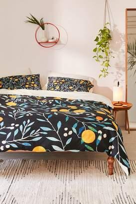 Deny Designs Ilsa Monttinen For Deny Orange Mania Duvet Cover