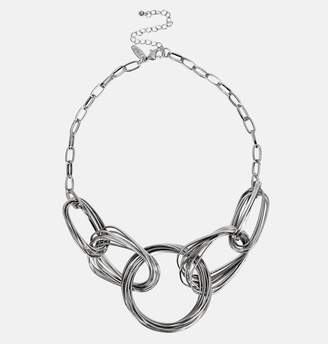 Avenue Intertwined Chain Statement Necklace