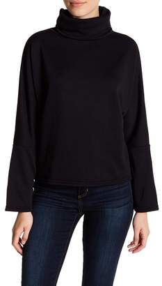 Melrose and Market Fleece Lined Funnel Neck Sweater (Petite Available)