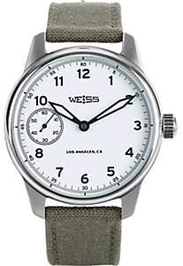 Weiss Men's Standard Issue Field Watch-White