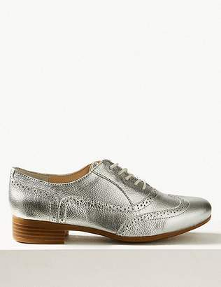 Marks and Spencer Leather Brogue Shoes
