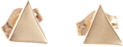 Wendy Nichol Gold Large Triangle Stud Earrings