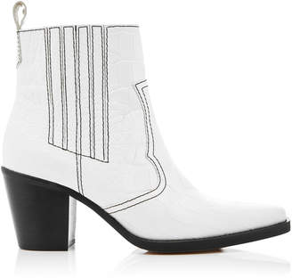 Ganni Callie Leather Boots