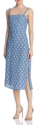 Faithfull The Brand Katergo Floral-Print Tie-Back Dress