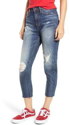 Vigoss High Waist Ripped Mom Jeans