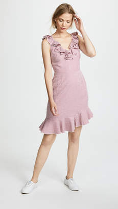 WAYF Dorian Mini Ruffle Dress