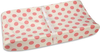 Carter's Jungle Dot-Print Contoured Changing Pad Cover