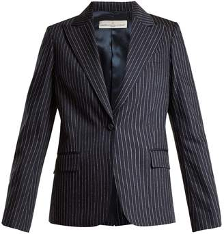 Golden Goose Venice pinstripe tailored jacket
