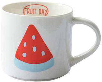 Black Temptation Creative Fruit Watermelon Ceramic Coffee Cup