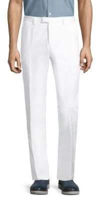 HUGO BOSS Cotton & Linen Blend Pants