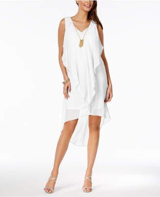 Thalia Sodi Ruffled High-Low Shift Dress, Created for Macy's