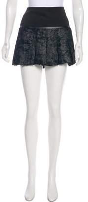 Ohne Titel Textured A-Line Skirt