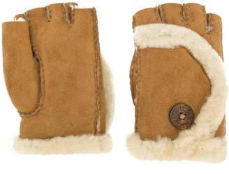 UGG shearling finger-less gloves
