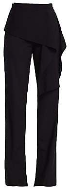 3.1 Phillip Lim Women's Side Tie Stretch-Wool Pants - Size 0
