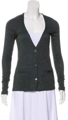 Etoile Isabel Marant Angora-Blend Long Sleeve Cardigan