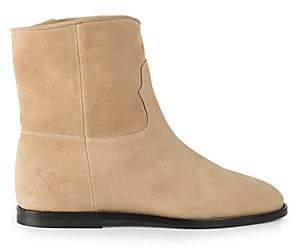 Off-White Men's Paperclip Chelsea Suede Boots