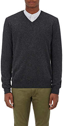 Barneys New York Men's Cashmere V-Neck Sweater - Charcoal