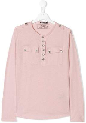 Balmain Kids TEEN Henley top