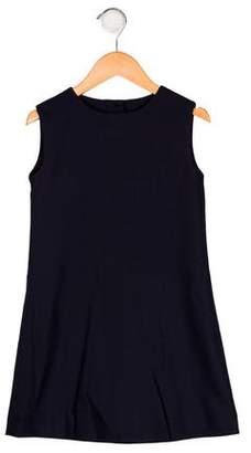 Oscar de la Renta Girls' Sleeveless Shift Dress