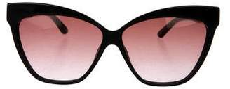 Christian Dior Gradient Cat-Eye Sunglasses
