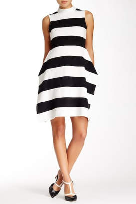 Gracia Mock Neck Dress