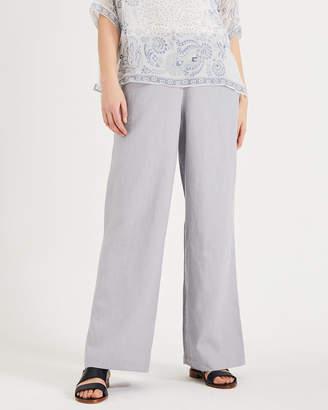Phase Eight Lex Linen Wide Leg Trousers
