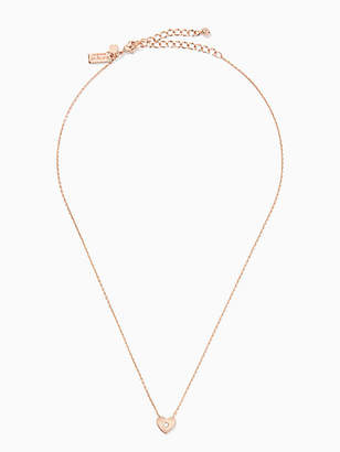 Kate Spade Love list heart pendant and studs boxed set