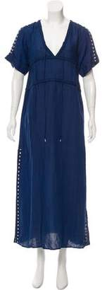 Dolce Vita Embroidered Midi Dress