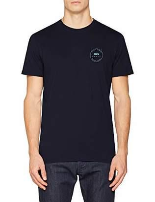 Edwin Men's Trademark TS T-Shirt, (Grey Marl DF67), (Size:L)