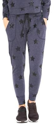Terez Star Print Jogger Pants