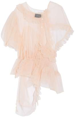 Simone Rocha Deconstructed Tulle Top