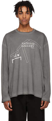 A-Cold-Wall* Grey National Gallery Long Sleeve T-Shirt