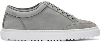 Etq Amsterdam Grey Suede Low 2 Sneakers