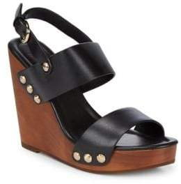 Joie Talia Leather Wedge Sandals