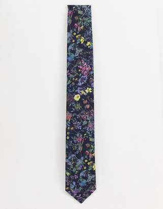 Gianni Feraud Liberty Print Wild Flowers Cotton Tie