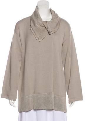 Giorgio Armani Heavy Knit Virgin Wool Cardigan