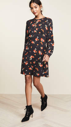 Vilshenko Reeta Floral Dress